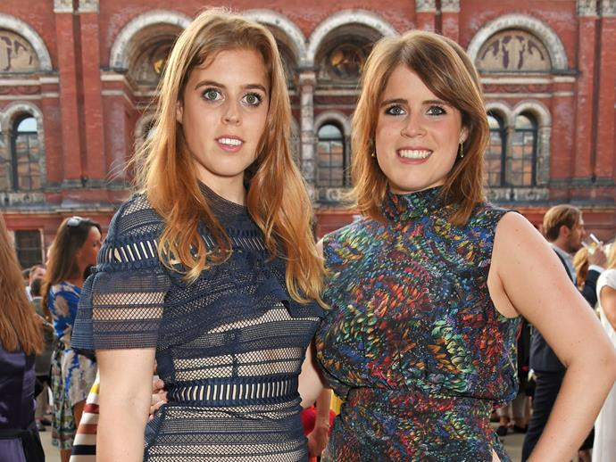 Princess Beatrice (left), pictured with Princess Eugenie, is a big fan of the French Riviera.