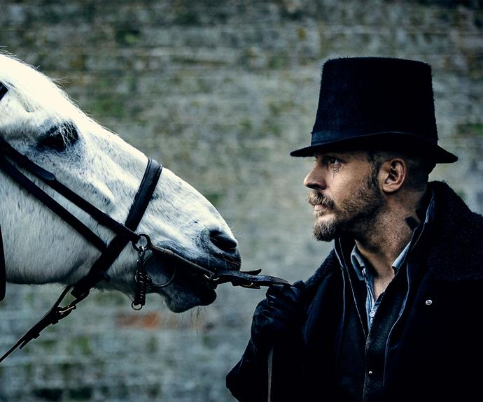 **Taboo, Foxtel Now – July 17:** *Taboo* follows adventurer James Delaney (Tom Hardy) on his return to London from Africa in 1814 bent on claiming his late father's shipping empire, only to find himself surrounded by a host of enemies standing in his way. Season one arrives on Foxtel with new episodes available to watch On Demand following each broadcast.