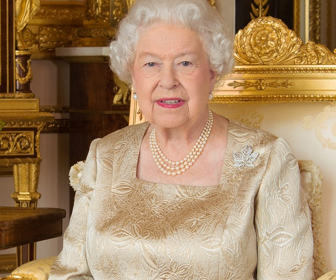 """""""Happy Canada Day! This portrait of The Queen was released in July 2017 to celebrate the 150th anniversary of the Canadian Confederation. The Queen, as the constitutional Canadian Monarch and Head of State, has a long and close relationship with Canada and has visited 24 times during her reign,"""" the royal family shared."""