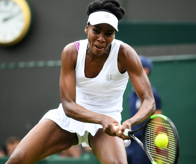 """After her game, [Venus Williams](http://www.nowtolove.com.au/news/latest-news/venus-williams-breaks-down-at-wimbledon-38874