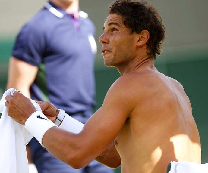 **Rafael Nadal** is off to a strong start, defeating Aussie player John Millman.