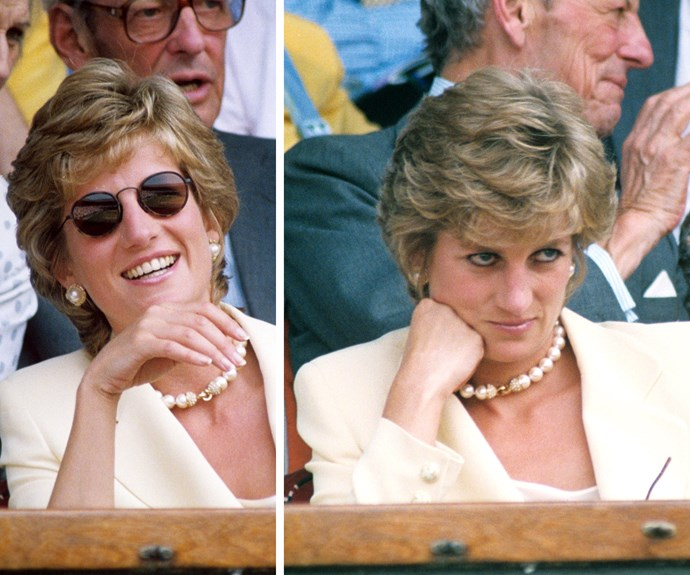 Seems like laughter to being bemused is a royal box requirement.