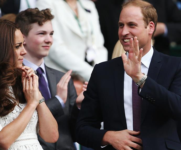 And Wills seems to have mastered it... Despite Kate's confusion.