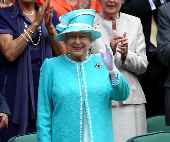 Of course Her Majesty has reigned the grass-adorned courts.