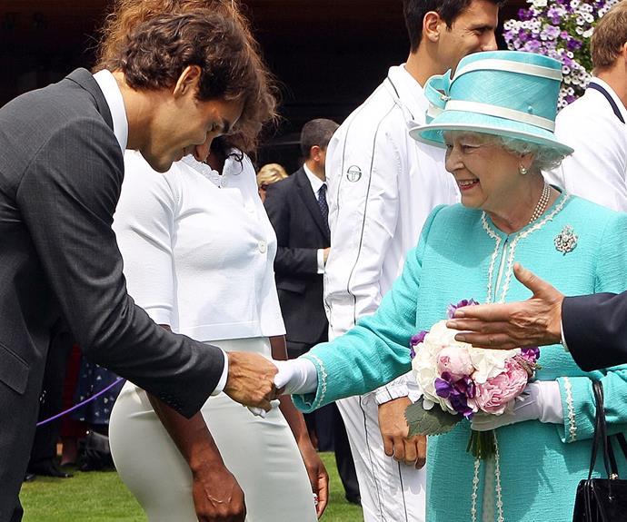 Roger Federer on the other hand...