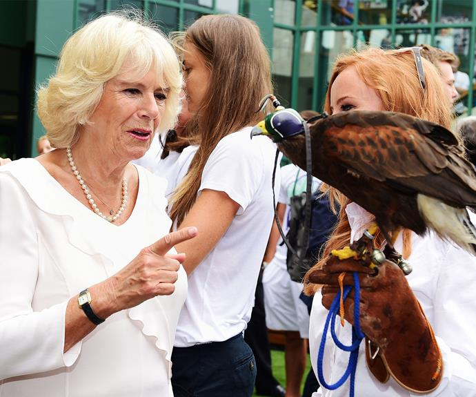 That year Duchess Camilla made a new friend.