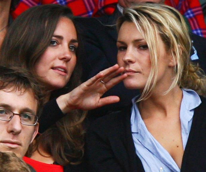 """Growing up I, sort of, watched, obviously watched Wimbledon, it's been very much part of my family growing up,"" Kate, pictured in 2007, told the *BBC*"