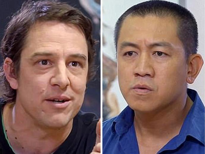"""Samuel Johnson tells Anh Do Woodlands suicide was """"a great loss - one that I feel a lot more profoundly than the loss of my mother""""."""