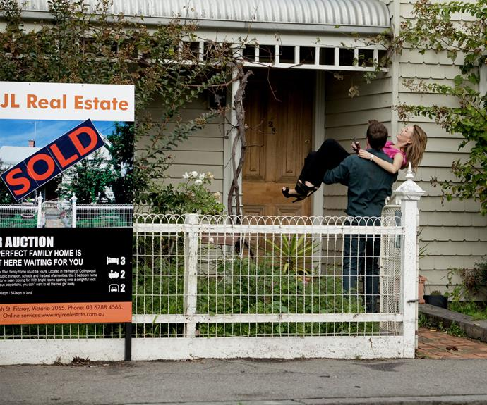 **Mick and Billie accidently buy a house:** There's nothing quite like getting swept up in the moment at an auction and accidently buying a house…