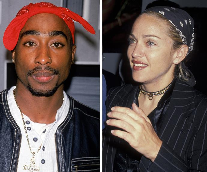 In newly unearthed letters, Tupac says he wants to end his romance with Madonna due to racial issues.