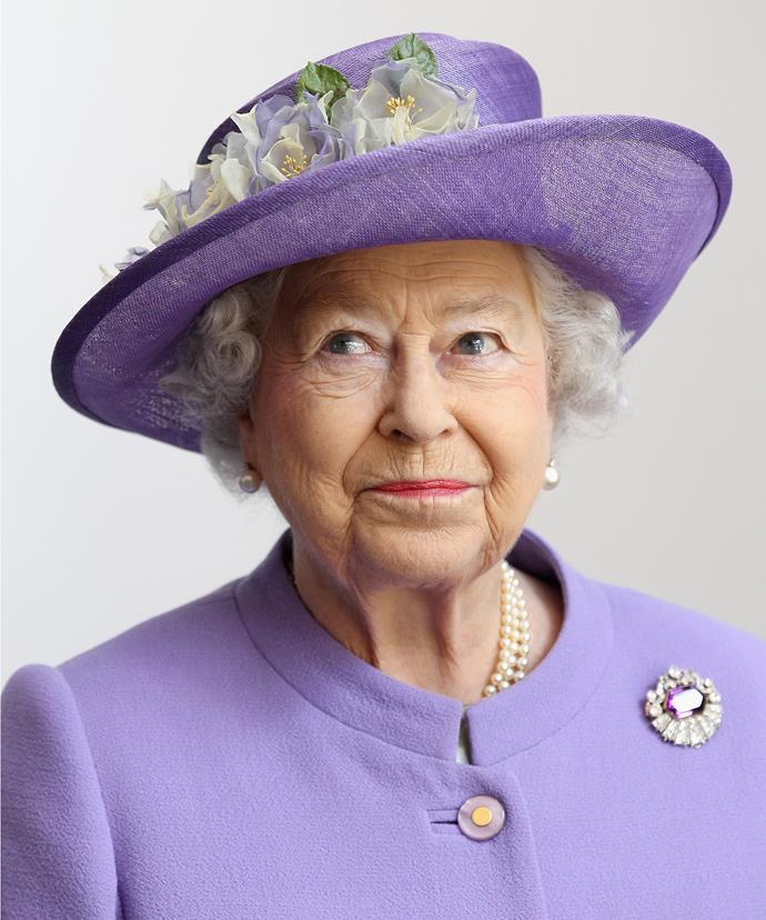 Pretty in purple in 2012.