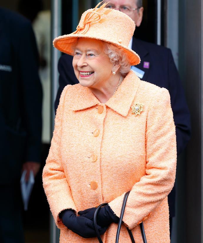 The Queen's preferred milliner is Rachel Trevor-Morgan.