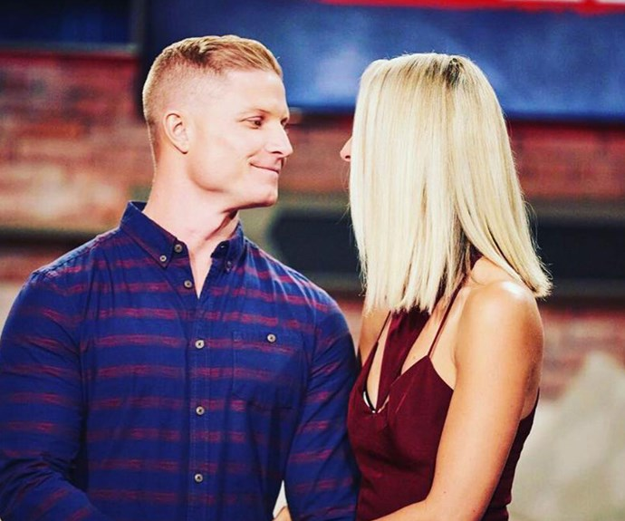 """So surreal right now, am proud of this incredible man next to me,"" Daniella shared on social media about making it to the grand final!"