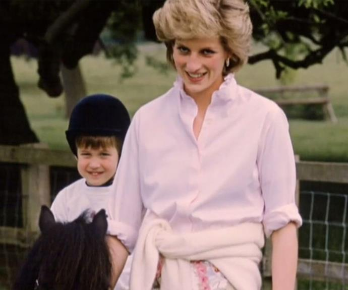 "Prince William and Harry have affectionately remembered their mother as ""naughty"" and the ""best mum in the world."" **(Image/ITV)**"