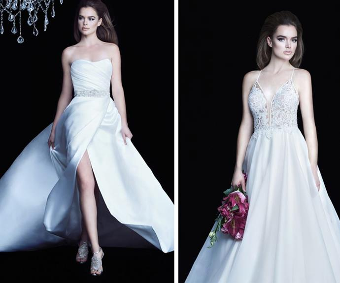 Meghan would look breathtaking in these designs. **(Image/Paloma Blanca)**