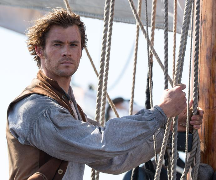 **The Heart Of The Sea:**  In 2015 Chris starred in *The Heart Of The Sea* – based on Nathaniel Philbrick's non-fiction book of the same name.