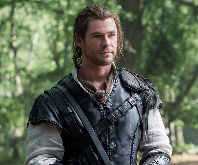 **The Huntsman:** Chris had to bulk up again for his role in *The Huntsman* in 2016.