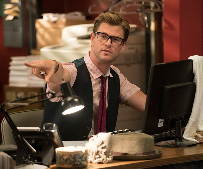 **Ghostbusters:**  2016 was a busy year for Chris, who also starred in the *Ghostbusters* reboot alongside Melissa McCarthy, Kristen Wig, Kate McKinnon and Leslie Jones.