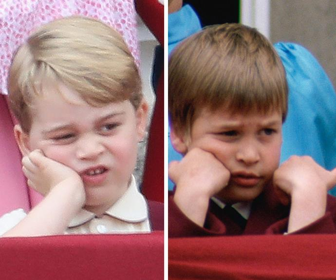 This George discovered that royal work isn't all that it's cracked up to be... His dad learnt that lesson back in 1988.