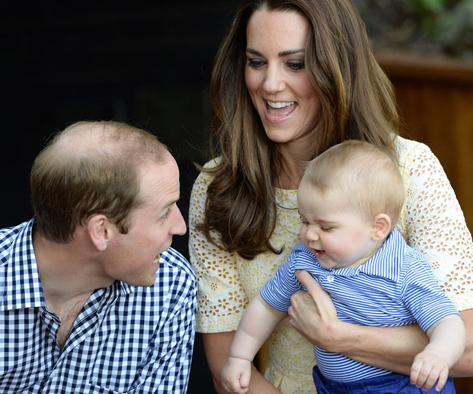 We still treasure the time young Georgie dropped by to Australia for his very first royal tour back in 2014.