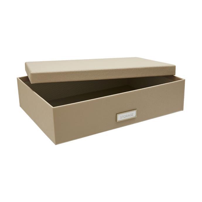 "[OTTO Criss Cross A3 Storage Box Stone](https://www.officeworks.com.au/shop/officeworks/p/otto-criss-cross-a3-storage-box-stone-ota3boxst?|target=""_blank""|rel=""nofollow""), $16.95"