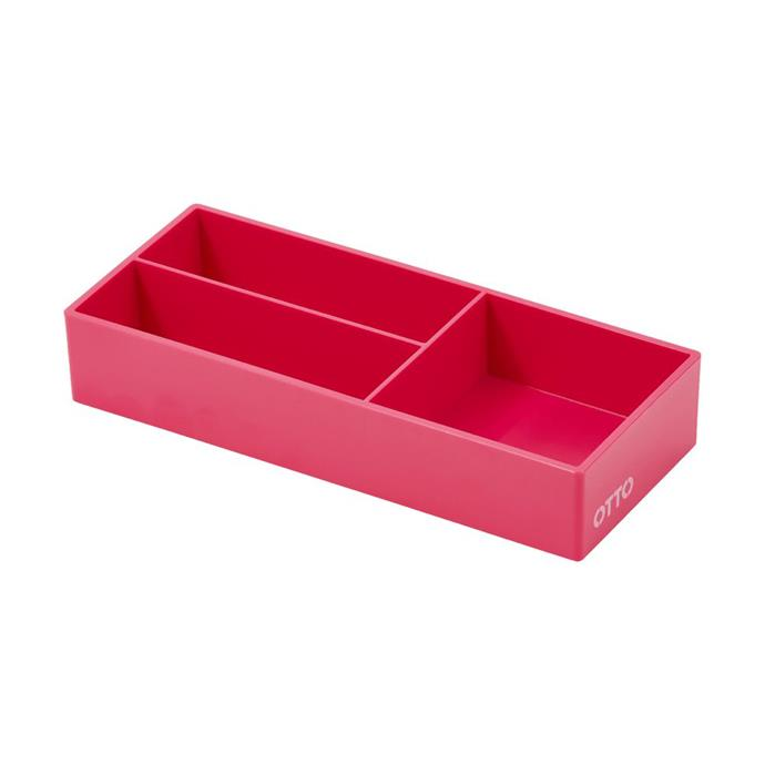 """[OTTO Brights Mini Organiser Tray Pink](https://www.officeworks.com.au/shop/officeworks/p/otto-brights-mini-organiser-tray-pink-otorgtpk?