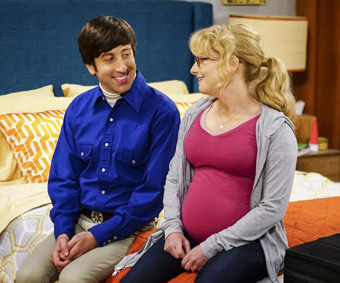 Melissa played a pregnant Bernadette on the hit show last year.