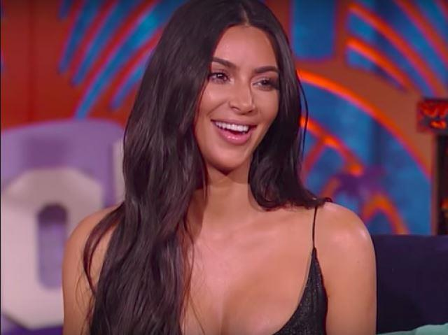 Kim talks about her sober lifestyle on Watch What Happens Live