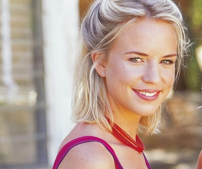 Jessica played young Becky Howard.