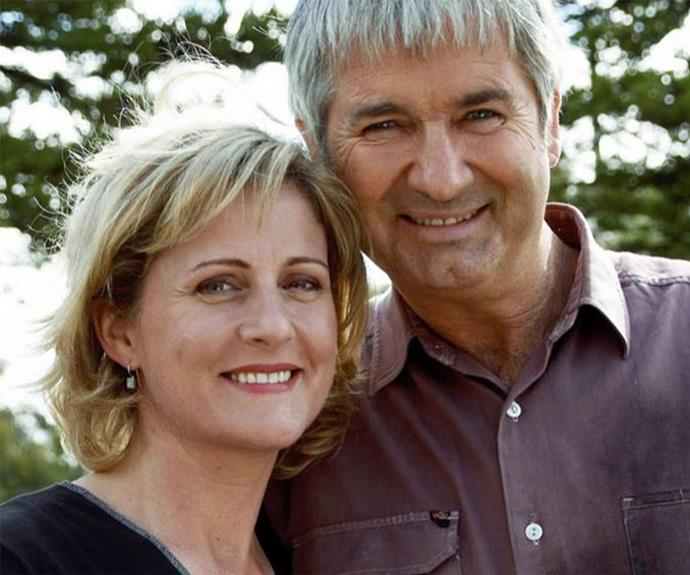 Sonia Todd and John Jarratt played Meg and Terry.
