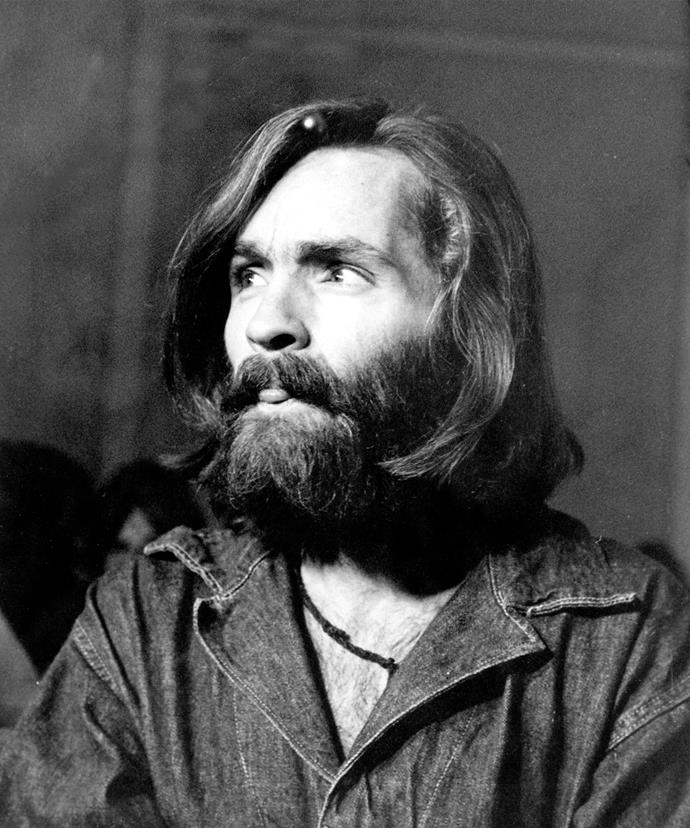 Charles Manson pictured in 1970.