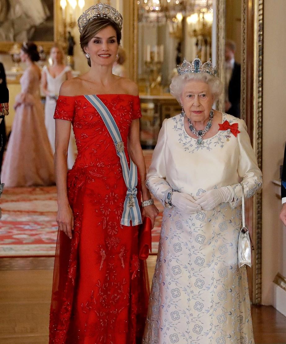 The Queens made a striking pair!
