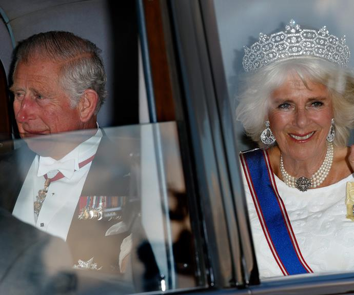 Charles and Camilla looking smashing.
