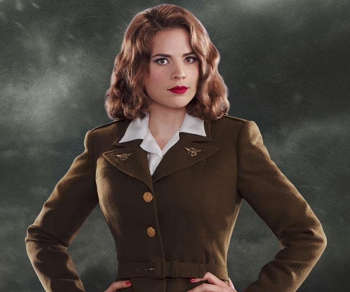 ***AGENT CARTER:*** A *Captain America* spin-off taking place within the timelines of the Marvel Cinematic Universe, *Agent Carter*, starring Hayley Atwell as the titular agent Peggy Carter, the show sees her juggling her life at the SSR (Strategic Scientific Reserve) and top-secret spy shenanigans she is involved with at the behest of Howard Stark, father of *Iron Man* himself, Tony Stark.