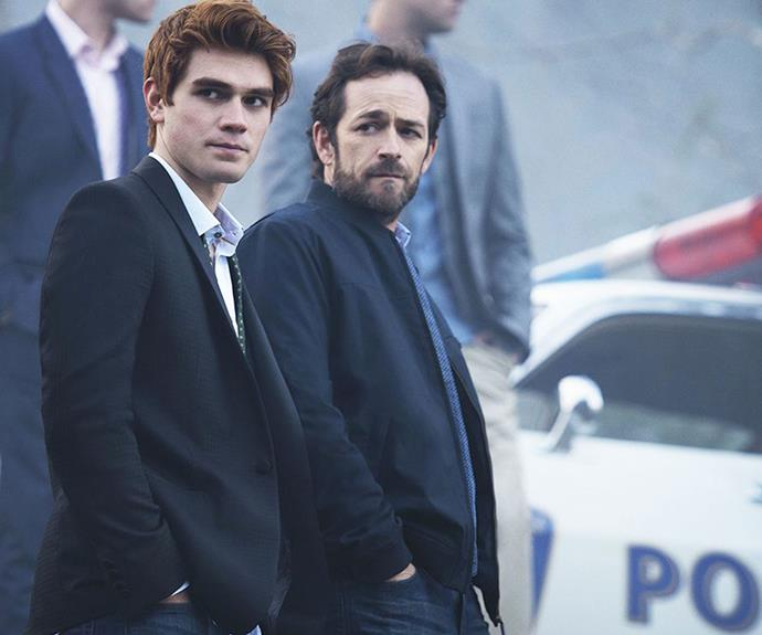 ***RIVERDALE:*** Playing like a demented mix of *Gossip Girl* and *Twin Peaks*, no surprise as the show features *Peak's* star Mädchen Amick, Archie adaptation *Riverdale* is an ultra-stylised throwback to the 80s and 90s with added Molly Ringwald and Luke Perry. With a too cool for school young cast, who barely go to lessons, *Riverdale* is the guiltiest of pleasures. **Watch now:** Netflix