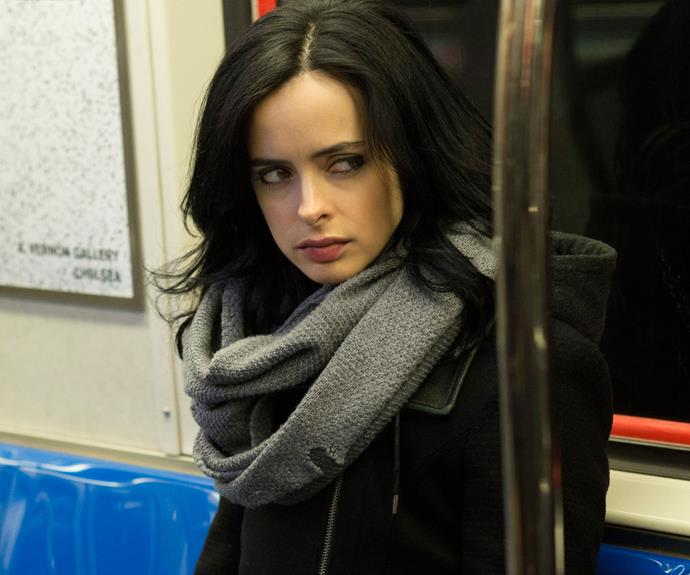 ***MARVEL'S JESSICA JONES:*** A dark neo-noir psychological thriller, the Jessica Jones of the latest Marvel adaptation is a broken woman. Suffering from post-traumatic stress disorder after the tragic end of her superhero career. As played by Kristen Ritter, Jones is a deeply disturbed with a vicious line in acerbic wit. A future member of *The Defenders*, with Daredevil, Luke Cage and Iron Fist. **Watch now:** Netflix