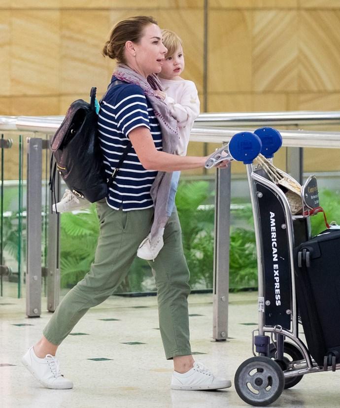 Kate and Mae were in Fiji.