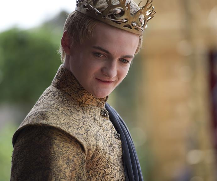 "**Joffrey kicks the bucket – season 4, episode 2 *""The Lion And The Rose""***: When King Joffrey died after drinking poisoned wine, there were plenty people who were glad to see him go. The nasty Joffrey (Jack Gleeson) was brutal in getting rid of his enemies, and tormented Sansa (Sophie Turner) over the death of her father. Good riddance to the awful little fellow!"