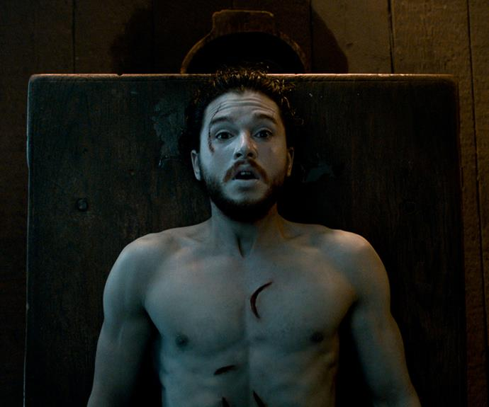 "**Jon Snow's resurrection – season 6, episode 2 *""Home""***: The moment that Melisandre (Carice van Houten) resurrected a dead Jon Snow (Kit Harrington) back to life was possibly one of the greatest moments of the series. We cried many tears when Jon was killed at the end of season five, but thankfully the Red Woman was able to weave her magic and bring him back to us."