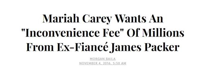 Can we also demand an inconvenience fee when we go through a break-up? Mine would only amount to a couple of Big Macs, but the premise is sound.