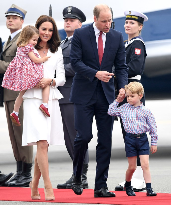 Prince William wife Duchess Kate and their two children recently visited Germany and Poland on official royal tour.