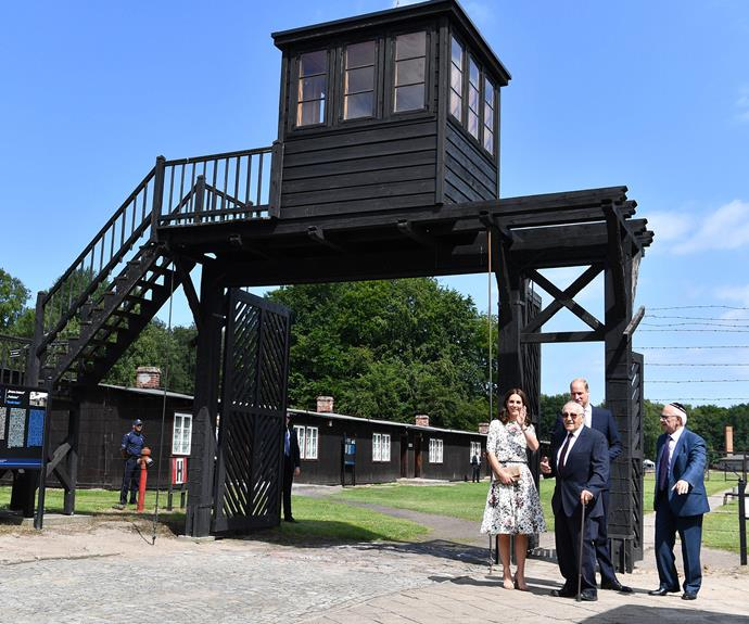 The Duke and Duchess of Cambridge visited the Stutthof Nazi concentration camp in northern Poland.