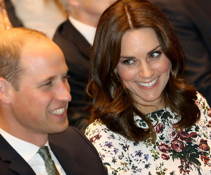 Kate and Wills are having a blast.