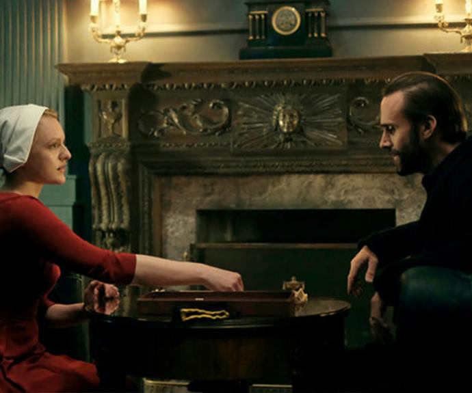 **Joseph Fiennes:** Joseph plays The Commander Fred Waterford in *The Handmaid's Tale*.