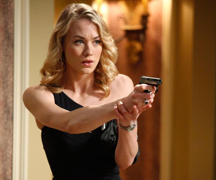 Aussie actress Yvonne had a lead role in the American spy series *Chuck*, which ran from 2007-2012. She also appeared in *Dexter* between 2012-2013.