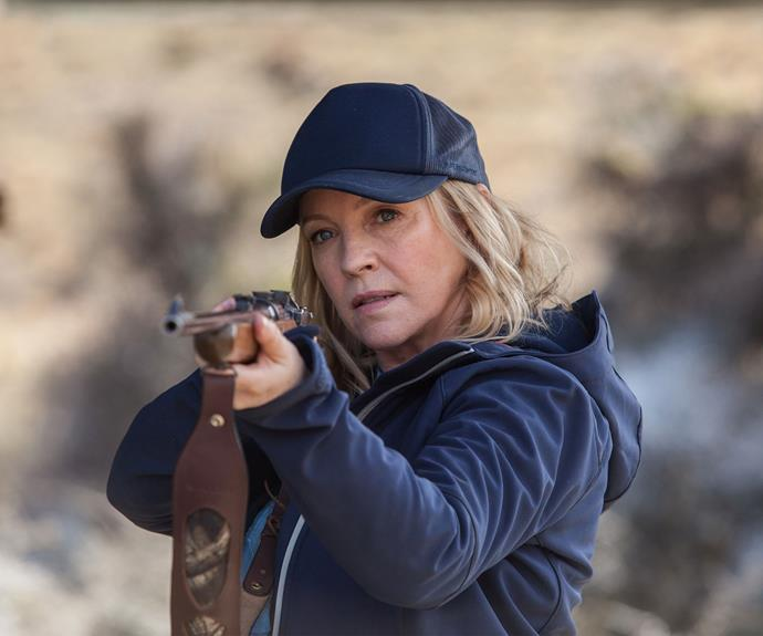 Rebecca has been one busy bee since playing mum Julie. The 2009 Gold Logie winner worked on several feature films, appearing alongside Toni Collette in the 2012 comedy *Mental*, before a cameo in *The Dressmaker* in 2015. Rebecca, 51, also produced and starred in the gritty crime drama *The Killing Field* in 2013, which then had a follow-up series called *Winter*. In the 2015 miniseries *Peter Allen: Not The Boy Next Door*, Rebecca played Peter's mother, Marion, before co-creating and starring in the fast-paced drama series *Wanted*.