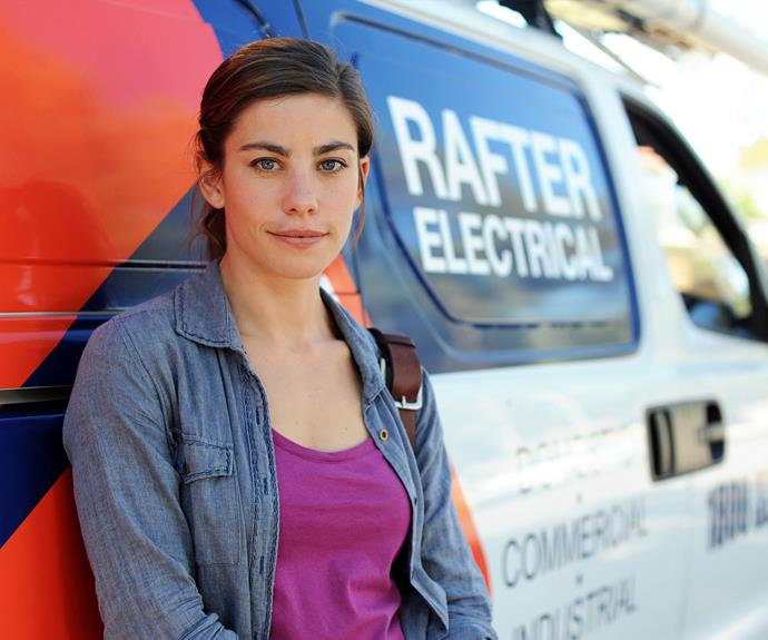 **Brooke Satchwell as Frankie Calasso**