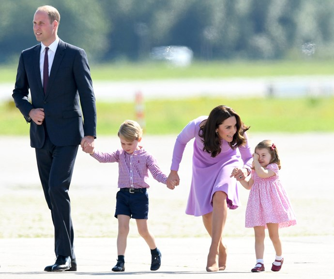 "While Duchess Kate says her daughter is ""the one in charge."""