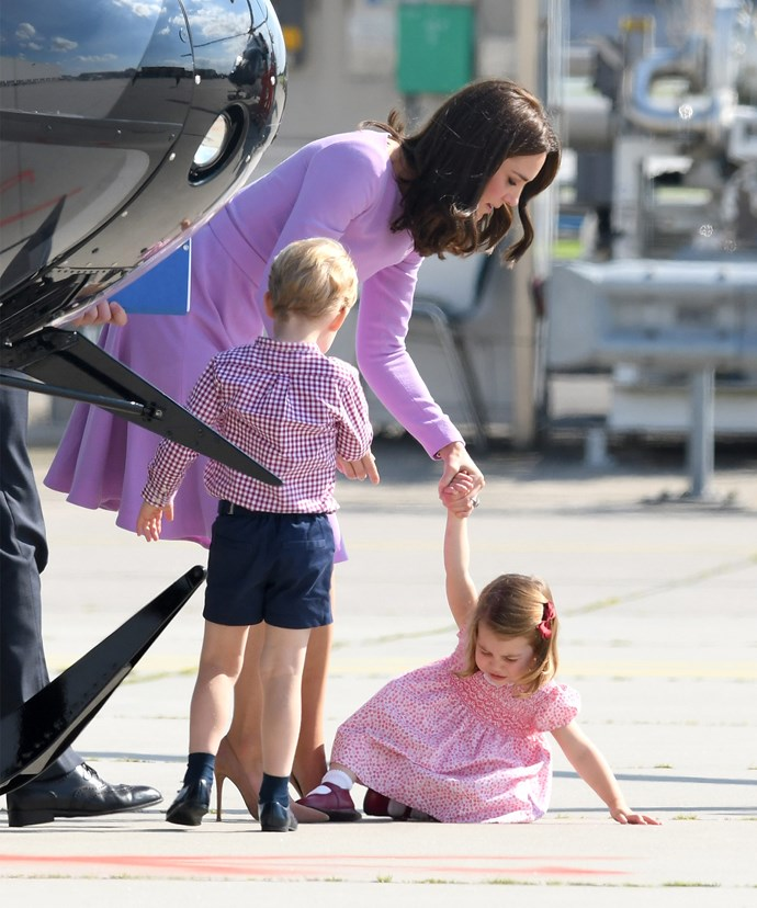 She might not be the direct heir to the throne but when it comes to family dynamics, The Queen has confessed her great-granddaughter Princess Charlotte, two, is very much in charge.
