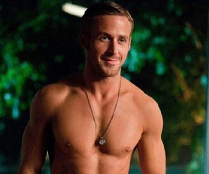 Shirtless Ryan makes our hearts race as well.